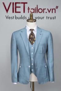 Xu hướng chọn vest cướicó màu sắc độc - lạ